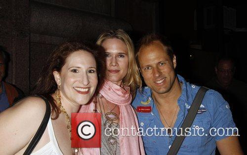 Stephanie March and Steve Wilder leave The Barrow...