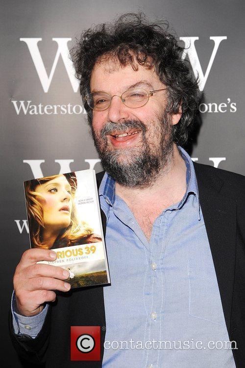 Stephen Poliakoff signs copies of his book 'Glorious...
