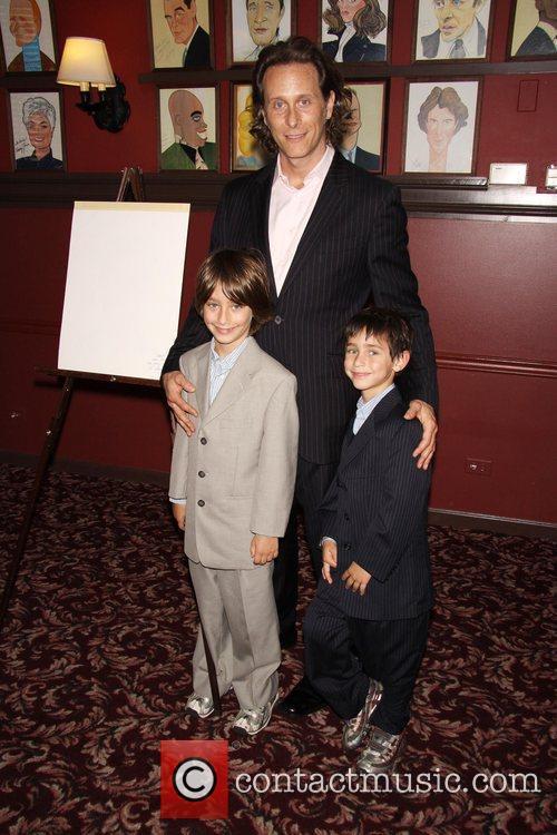 Jack Weber, Steven Weber and Alfie Weber 2