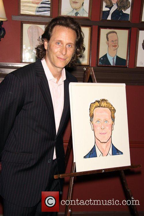 Steven Weber attends the unveiling of his Wall...