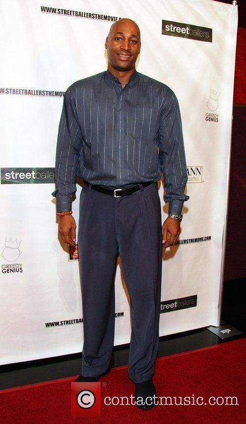 Derek Strong Streetballers Hollywood Premiere at the Mann...