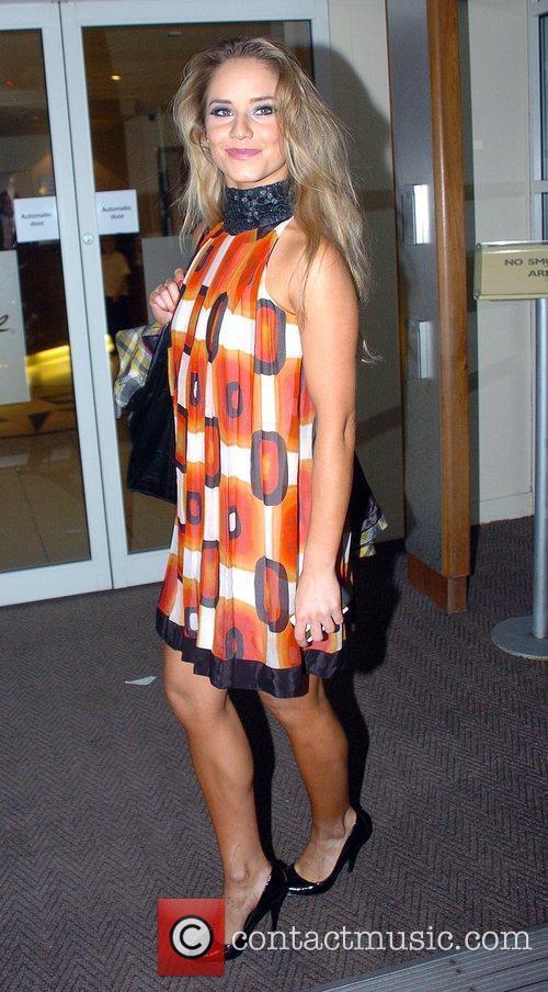 Katya Virshilas arrives back at her hotel after...