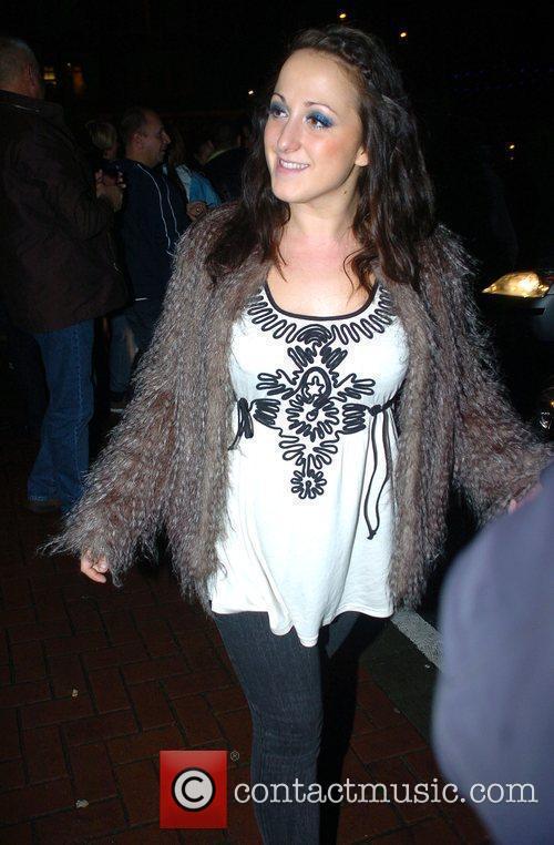 Natalie Cassidy arrives back at her hotel after...