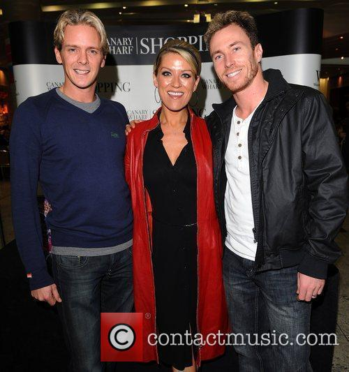 Matthew Cutler, Zoe Lucker, James Jordan 'The Official...
