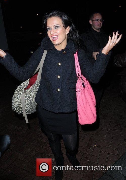 Lilia Kopylova arrives back at her hotel after...