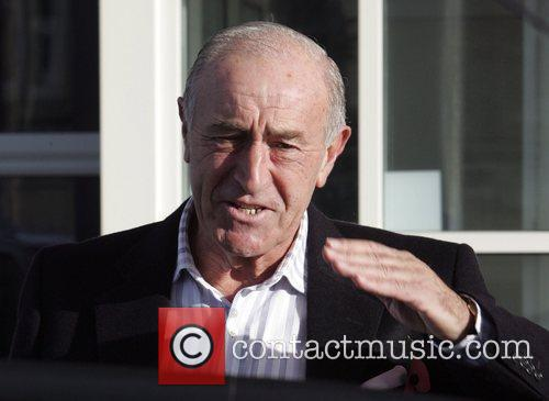 Len Goodman leaves his hotel to head to...