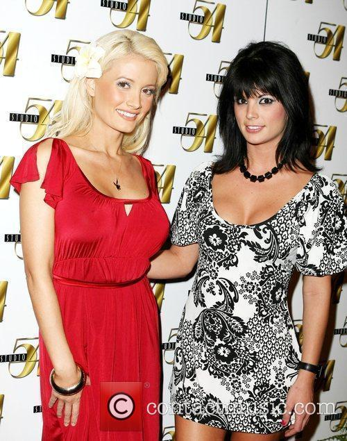 Holly Madison and Laura Croft at Studio 54...