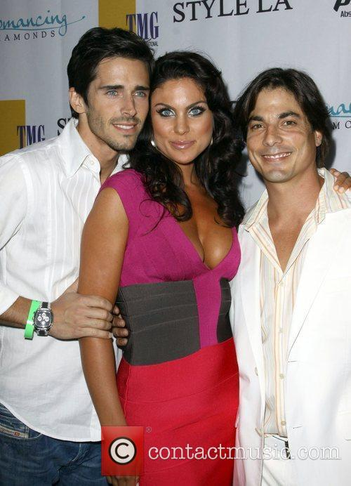 Brandon Beemer and Nadia Bjorlin