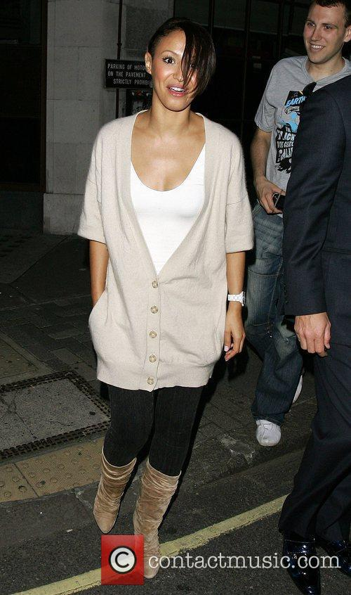 Amelle Berrabah of the Sugababes leaves the BBC...