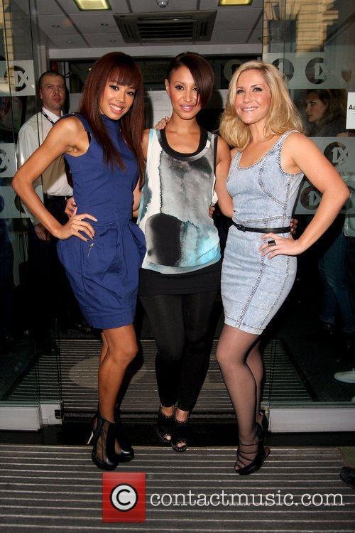 Jade Ewen, Amelle Berrabah and Heidi Range...