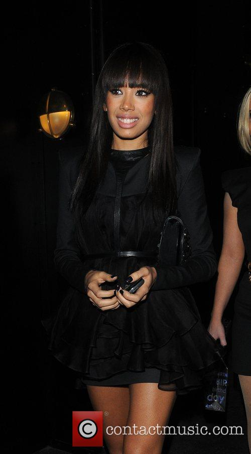 Jade Ewen of the Sugababes  leave eight...