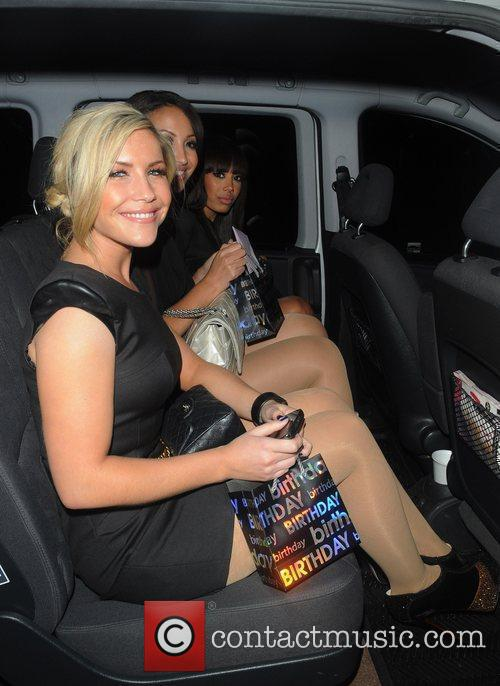 The Sugababes  leave eight members club before...