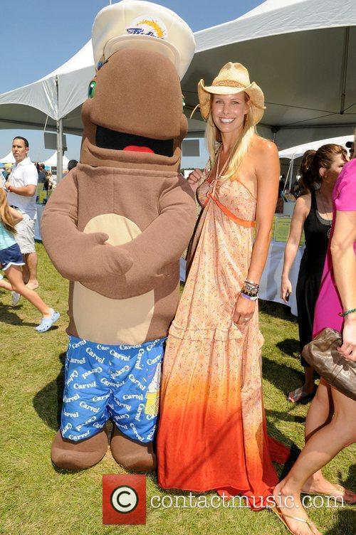Beth Ostrosky and Fudgie the Whale Super Saturday...