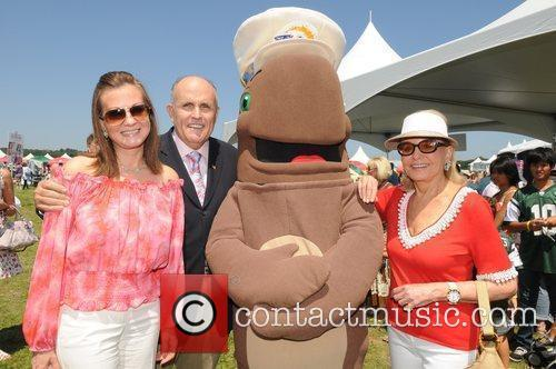 Rudy Giuliani, Judy Nathan, Barbara Walters and Fudgie...