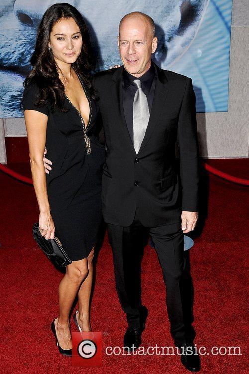 Bruce Willis and Emma Hemming 5
