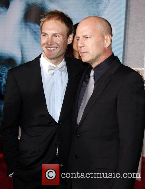 Bruce Willis and James Francis The World Premiere...