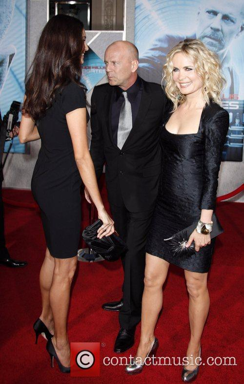 Bruce Willis and Emma Hemming with Rhada Mitchell...