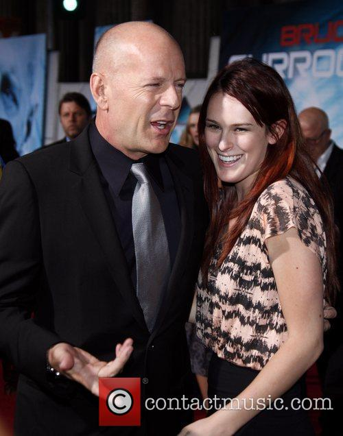 Bruce Willis and Rumer Willis  The World...