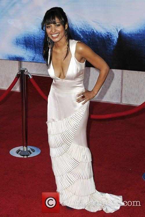 Meta Golding The World Premiere of 'Surrogates' at...