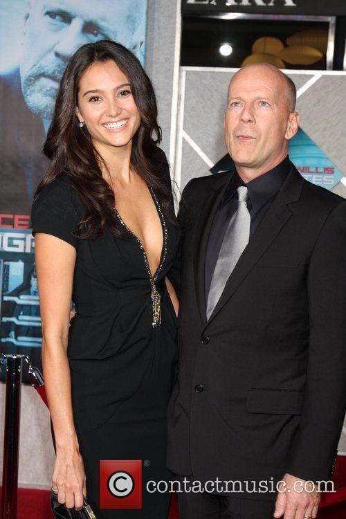 Emma Heming, Bruce Willis The Surrogates premiere held...