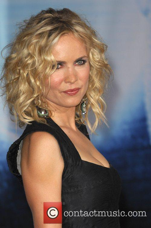 Radha Mitchell The Surrogates premiere held at the...