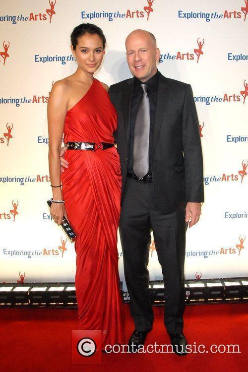 Emma Heming and Bruce Willis 2