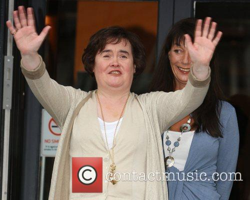 Susan Boyle shopping at Lulu and Fred. The...