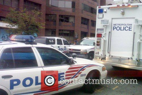 Police in Washington DC were forced to halt...