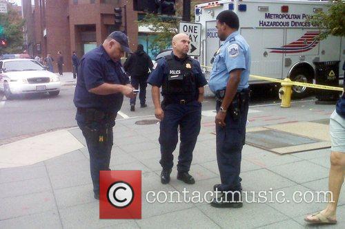 Police In Washington Dc Were Forced To Halt A Terrorism Alert Reenactment When A Suspicious Package Was Found 4