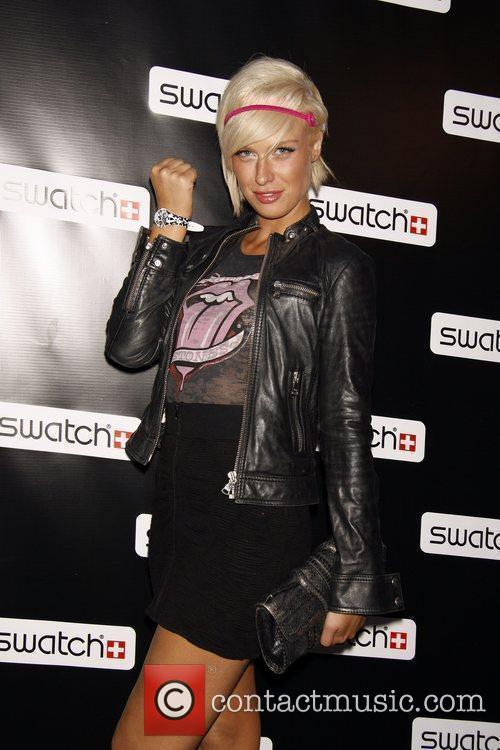 Release party for the CreArt By Swatch Timepiece...