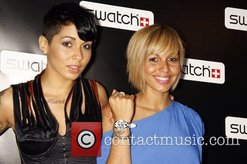 Nina Sky  Release party for the CreArt...