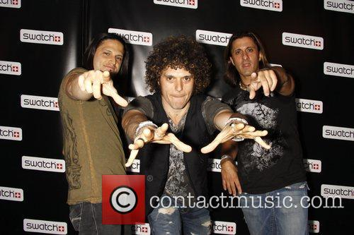 Wolfmother Release party for the CreArt By Swatch...