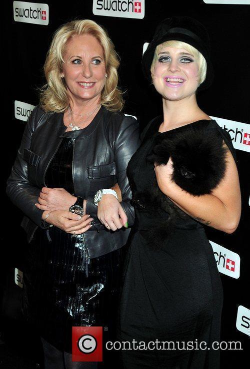 Arlette-Elsa Emch and Kelly Osbourne Swatch Times Square...