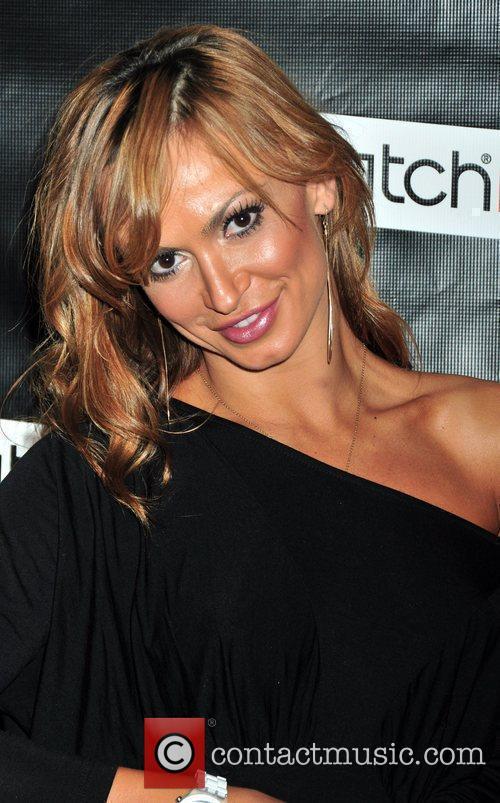 Karina Smirnoff Swatch Times Square flagship store grand...