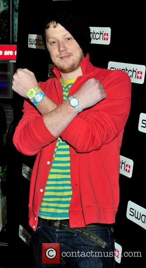 Matthew Langille Swatch Times Square flagship store grand...