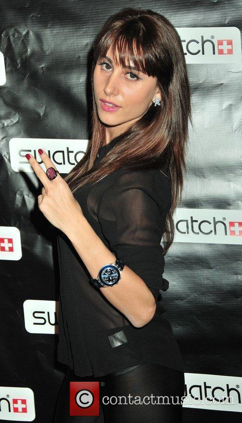 Swatch Times Square flagship store grand re-opening and...