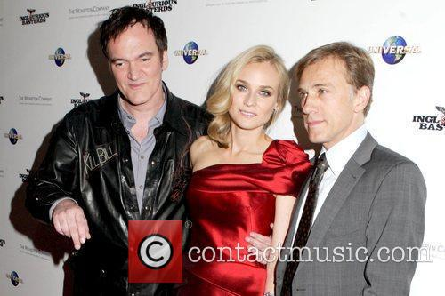 Quentin Tarantino and Diane Kruger 1