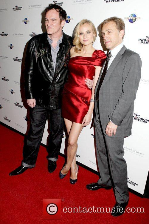 Quentin Tarantino and Diane Kruger 2