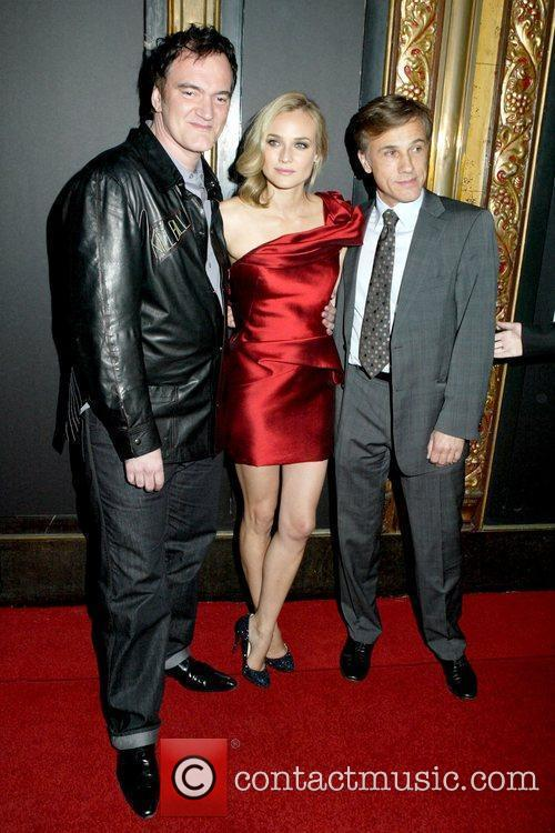 Quentin Tarantino and Diane Kruger 3