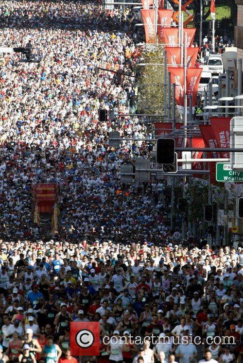 The 14 kilometre 'City2Surf' 2009 Sydney Marathon, run...