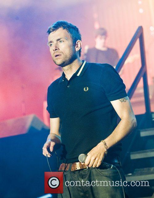 Damon Albarn and T In The Park 5