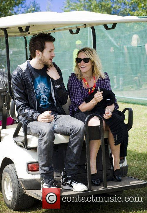 Calvin Harris, Edith Bowman and T In The Park 2