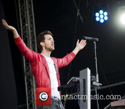 Calvin Harris and T In The Park 1