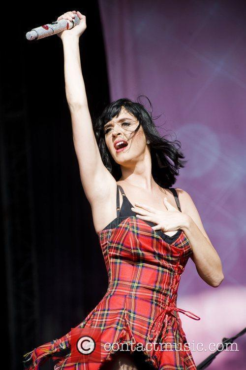 Katy Perry and T in the Park 14