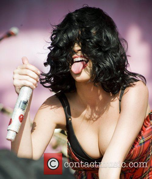 Katy Perry and T in the Park 17