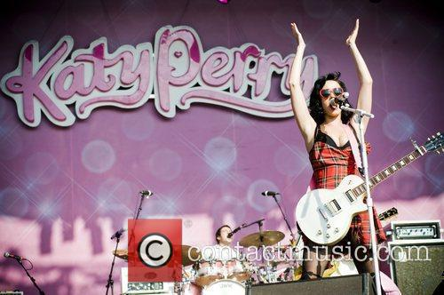 Katy Perry and T In The Park 11