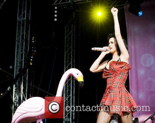 Katy Perry and T in the Park 18