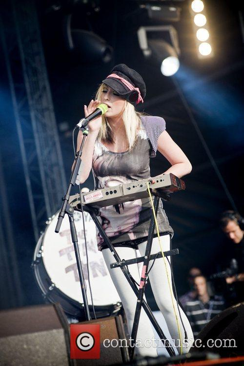 The Ting Tings and T In The Park 3