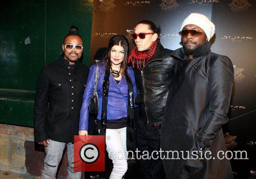 The Black Eyed Peas Jump Footwear Launch of...