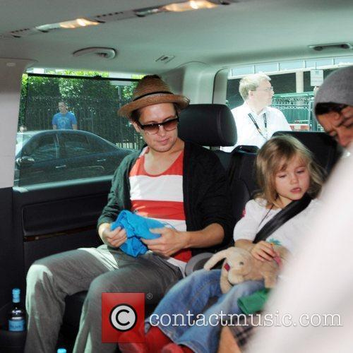Mark Owen, Lola Donald and Howard Donald 3